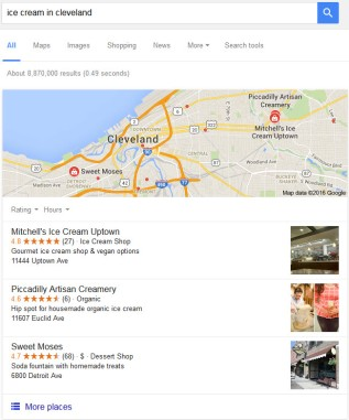 Google Maps Local SEO